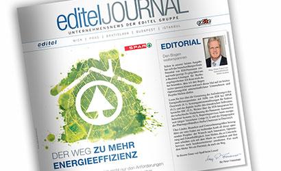 EDITEL Journal Abbildung des Magazins