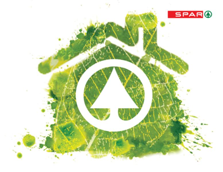 EDI SPAR Energie Häuschen inkl. Spar Logo