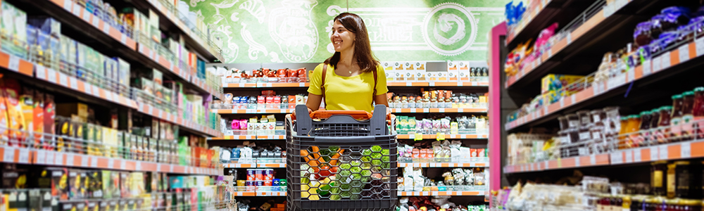 supermarket shopping experience to avoid out-of-stock-situations