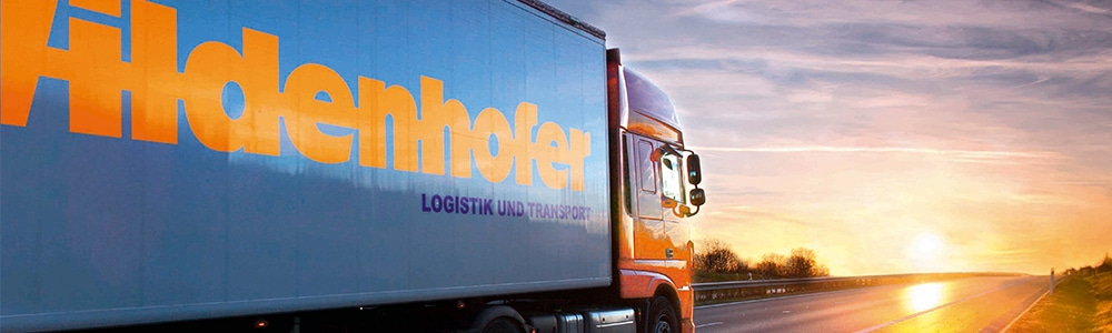 Truck from the Wildenhofer company as a participant in the Blockchain Initiative Logistics: Successful test transport with digital consignment note eCMR